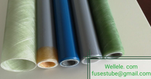 filament  wound vulcanzied fiber tube